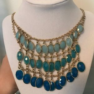 New Ombré necklace & matching earrings